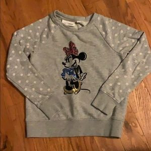 Gap Kids / Disney Minnie Mouse sweatshirt
